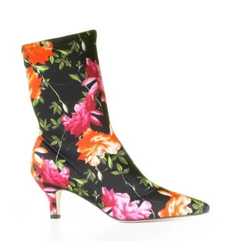 Cypres sock boots bloemenprint multicolor