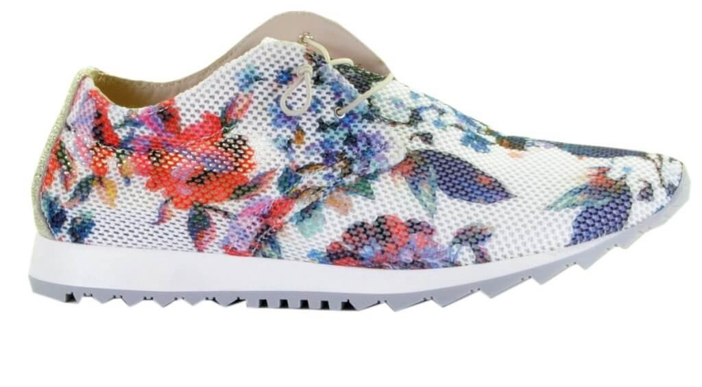 Donna Carolina multicolor runner bloemenprint