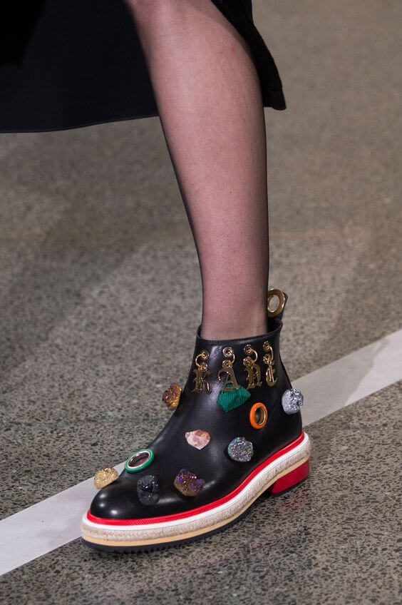 Christopher Kane_Chelsea_Details_Sier_Boots_Layers_Laagjes_SS17_Spring_Summer_Lente_Zomer_Trends_Shoes_Schoenen_2017