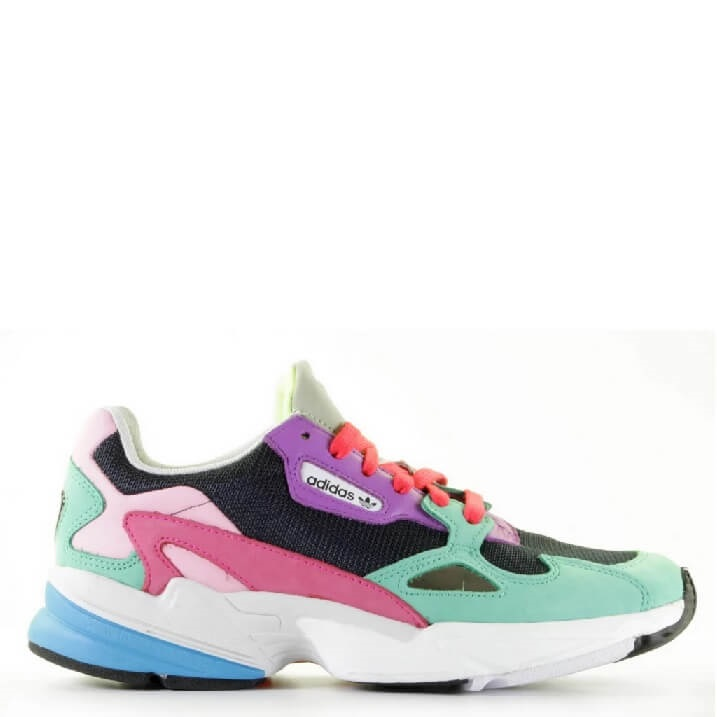 Adidas Falcon C2611 multicolor color block dames sneakers