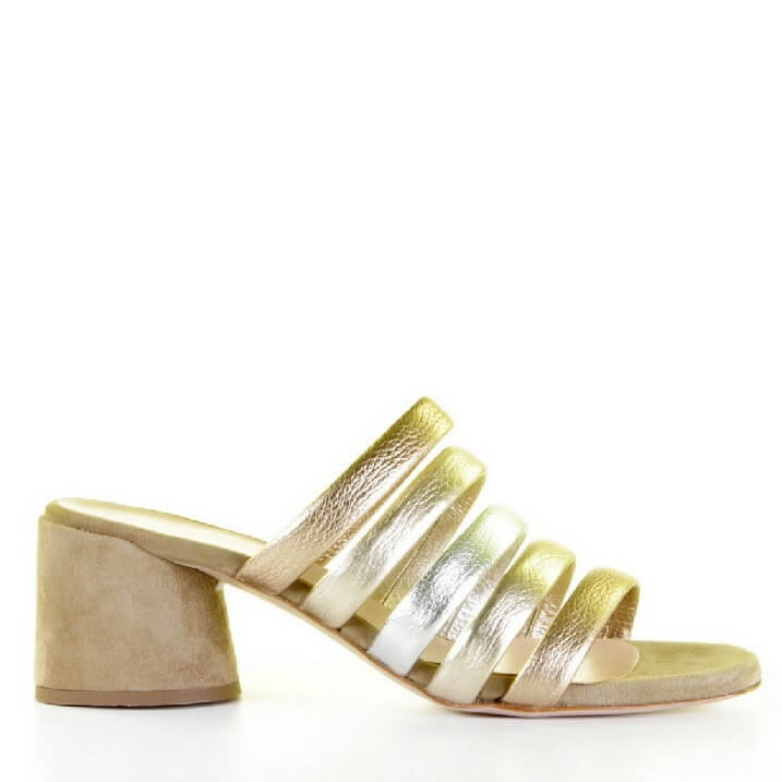 Franco Russo instapper metallic Great Gatsby style