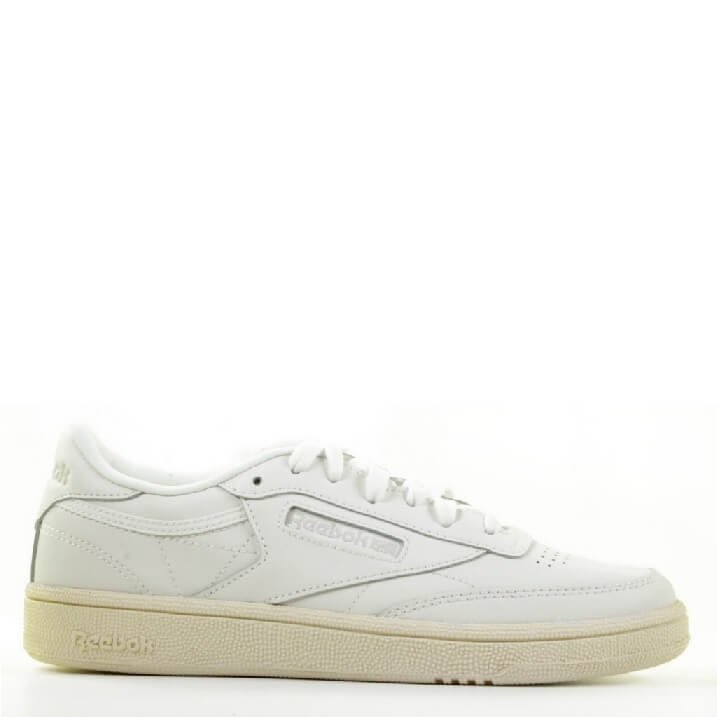 Reebok Club C85 witte retro sneakers dames