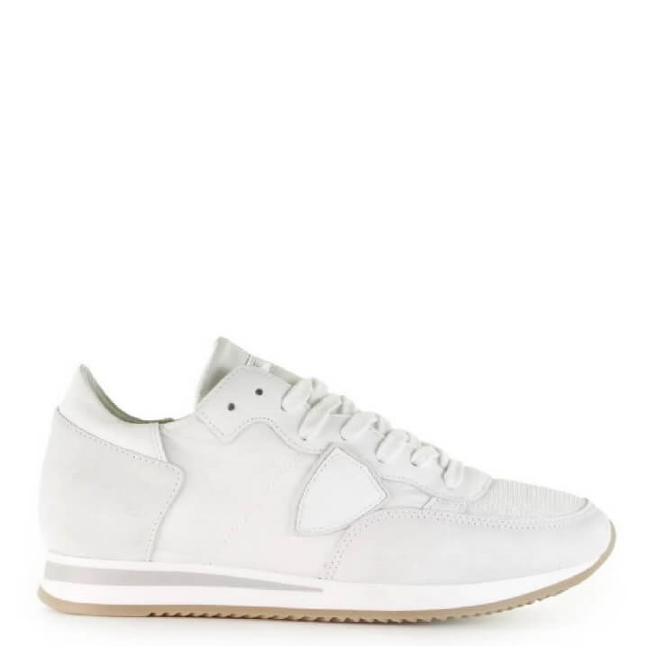 Philippe Model Tropez witte damessneakers sneakertrend 2019