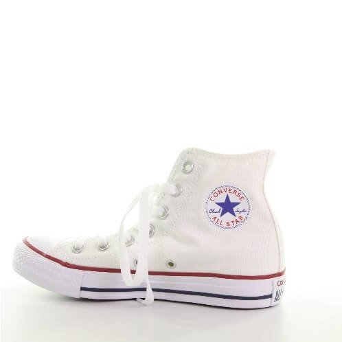 Hoge witte Converse All Stars