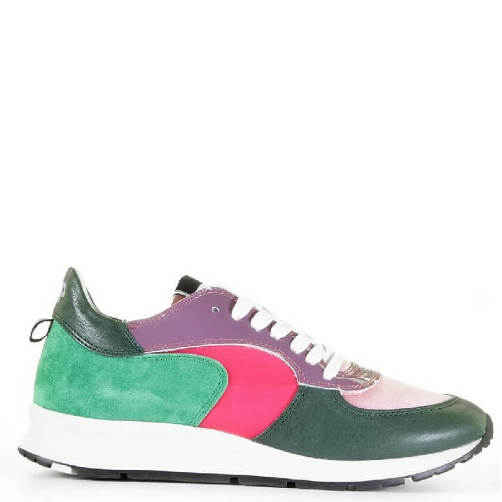 Philippe Model Monte Carlo Mondial color block dames sneakers