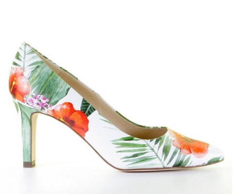Peter Kaiser pump tropical