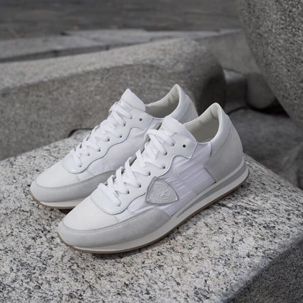 Philippe Model witte dames sneakers sneakertrends lente zomer 2019