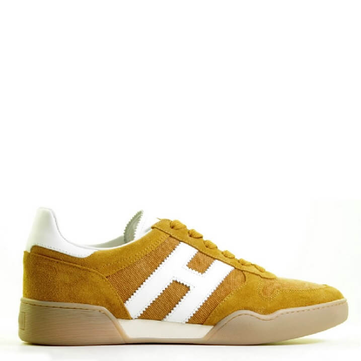 Hogan herensneakers geel