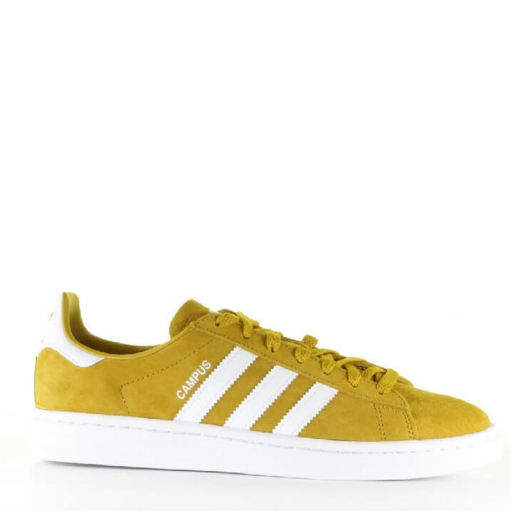 Adidas Campus gele heren sneakers