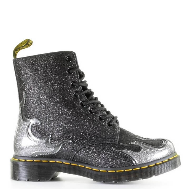 Dr. Martens Pascal Flame boots met glitters