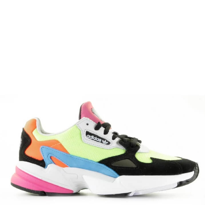 Adidas Falcon CG6210 colorblock damessneakers