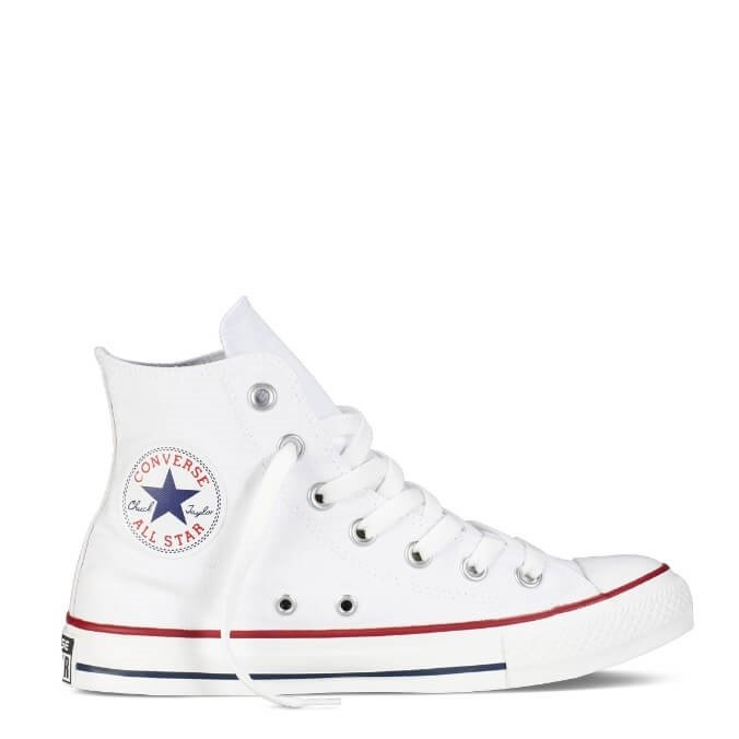 Converse Chuck Taylor witte high-top All Stars retro sneakers dames