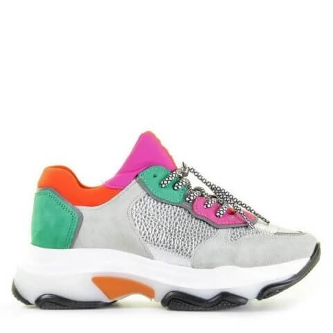 Bronx multicolor chunky dames sneaker