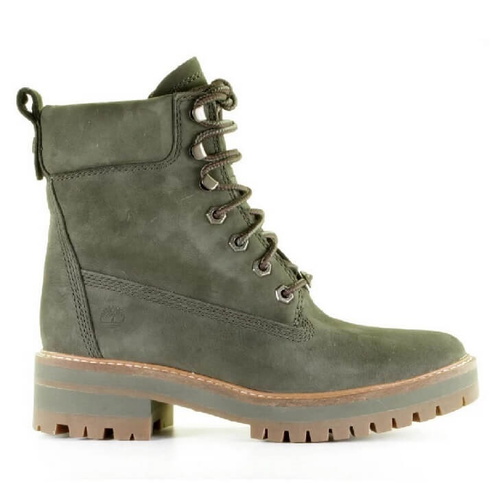 Timberland Courmayeur Valley veterboots dames khaki