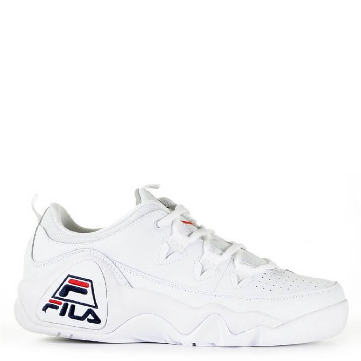 FILA 95 Low white retro sneakers heren met logo