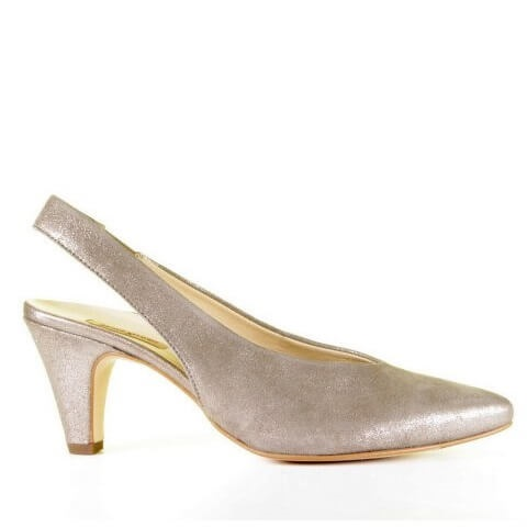 Paul Green bronskleurige slingback pump