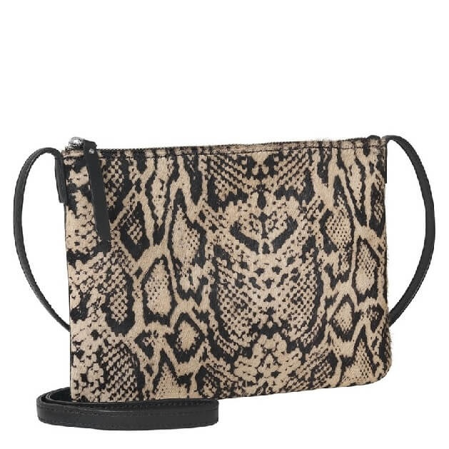 Becksondergaard cross-body tas met slangenprint