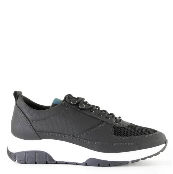 Nubikk Ellis Nezha Gomma black heren sneakers