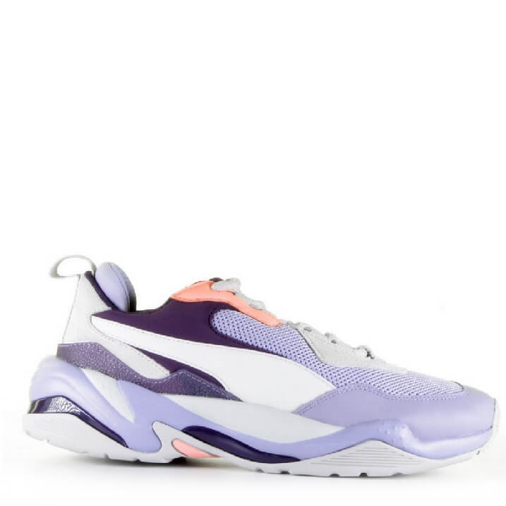 Puma Thunder Spectra lila dames sneakers met opvallende zool