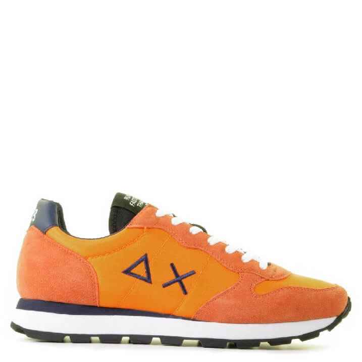 Oranje herensneakers Sun68